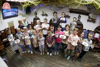 Детский мастер-класс по приготовлению шоколадного печенья